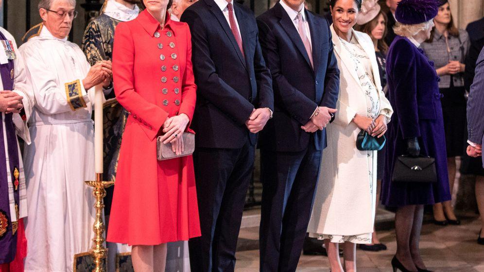 Foto: Los duques de Sussex y los duques de Cambridge, en una imagen de archivo. (Reuters)