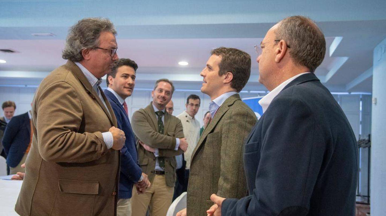 Encuentro entre Pablo Casado y la Unión de Ganaderos de Toros de Lidia en diciembre pasado. (UGTL)