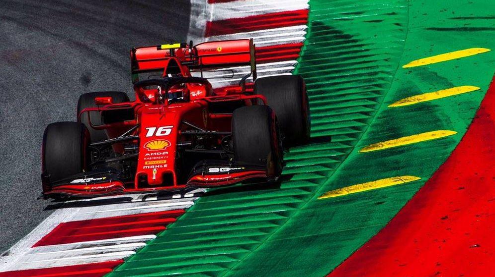 Foto: Leclerc no tuvo rival en Austria. (Ferrari)