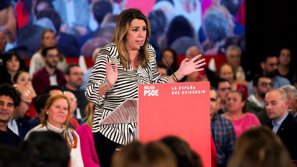 La moción de censura en Andalucía tras las elecciones en que solo Susana Díaz cree