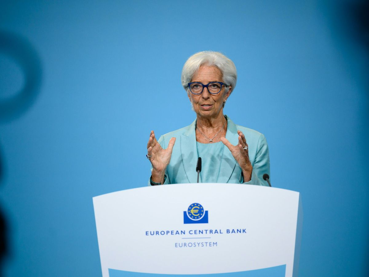 Foto: La presidenta del Banco Central Europeo (BCE), Christine Lagarde. (EFE)