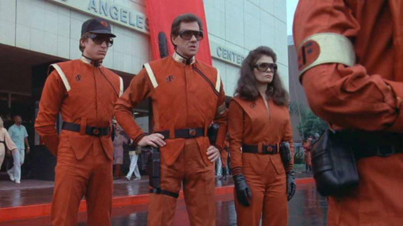 Imagen de la serie 'V' con su uniforme característico.