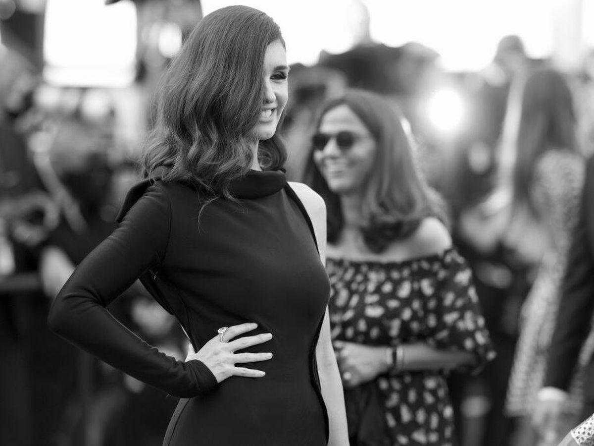 Foto: Paz Vega, en la alfombra roja de Cannes. (Getty)