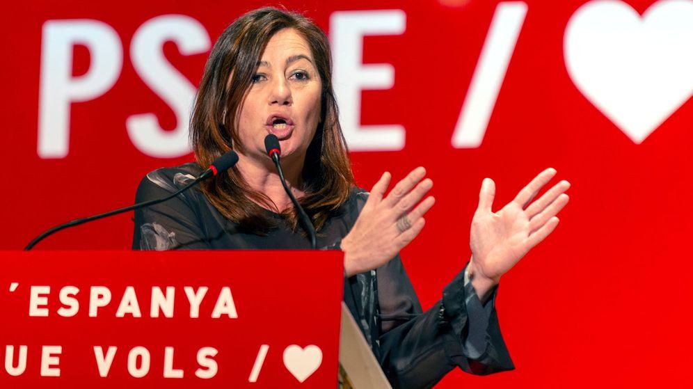 Foto: La secretaria general del PSIB-PSOE, Francina Armengol (Efe)