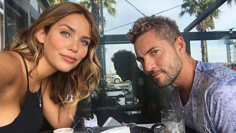 Rosanna Zanetti y David Bisbal en una imagen de archivo. (Instagram)