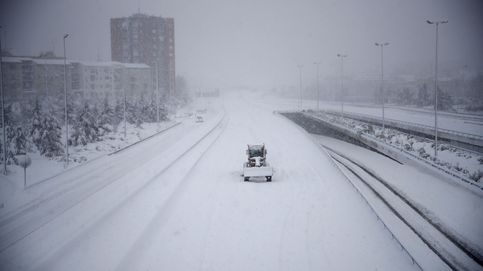 He recorrido 63 km de sal y hielo para volver a Madrid: si puedes, mejor no lo intentes
