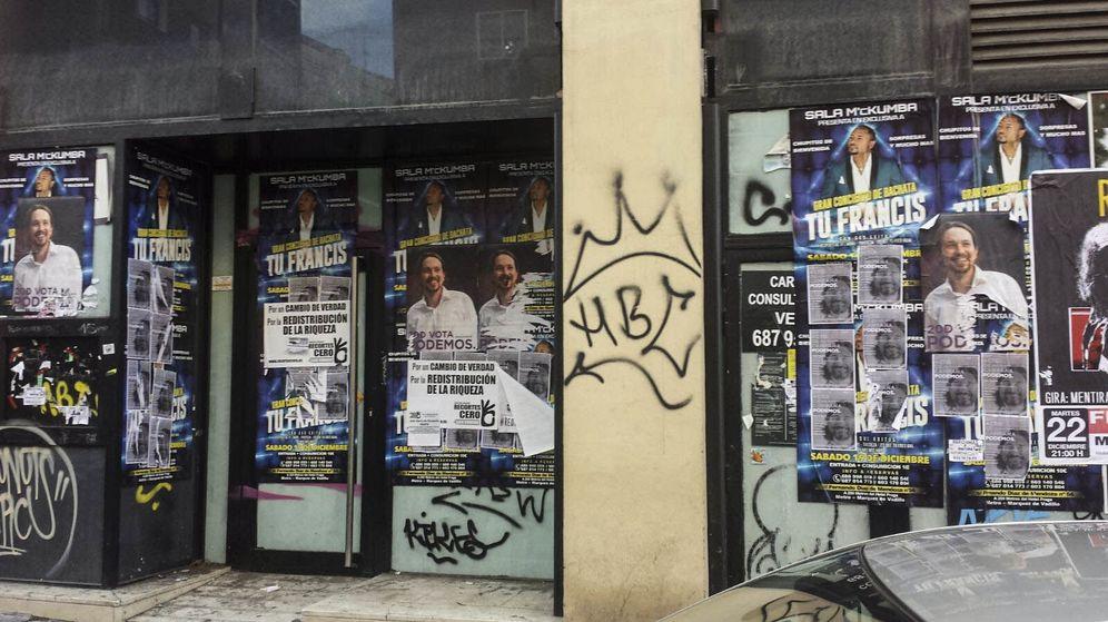 Foto: Carteles electorales en las calles de Madrid un mes después del 20-D