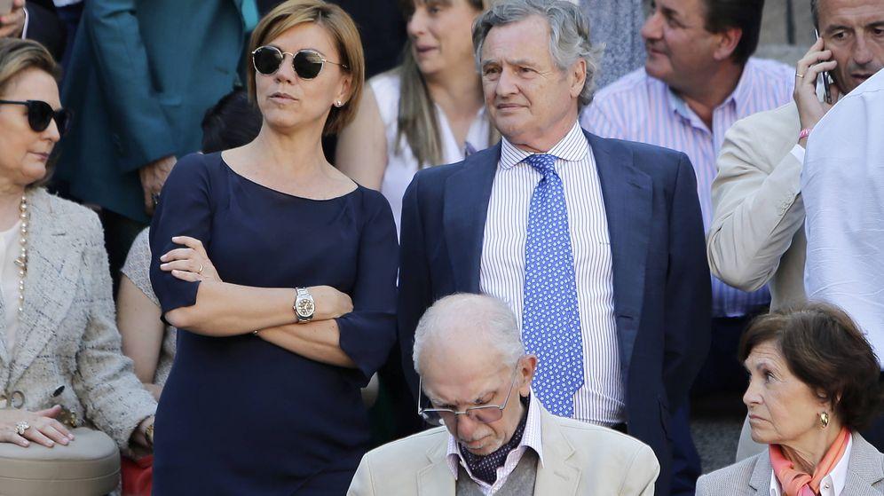 Foto: María Dolores de Cospedal y su marido, Ignacio López del Hierro.