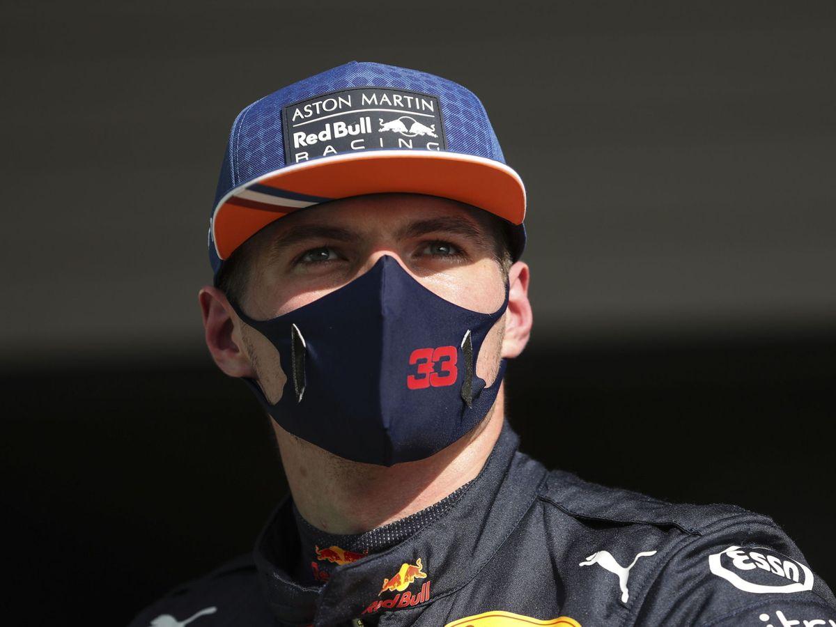 Foto: Verstappen durante el GP de Portugal. (EFE)
