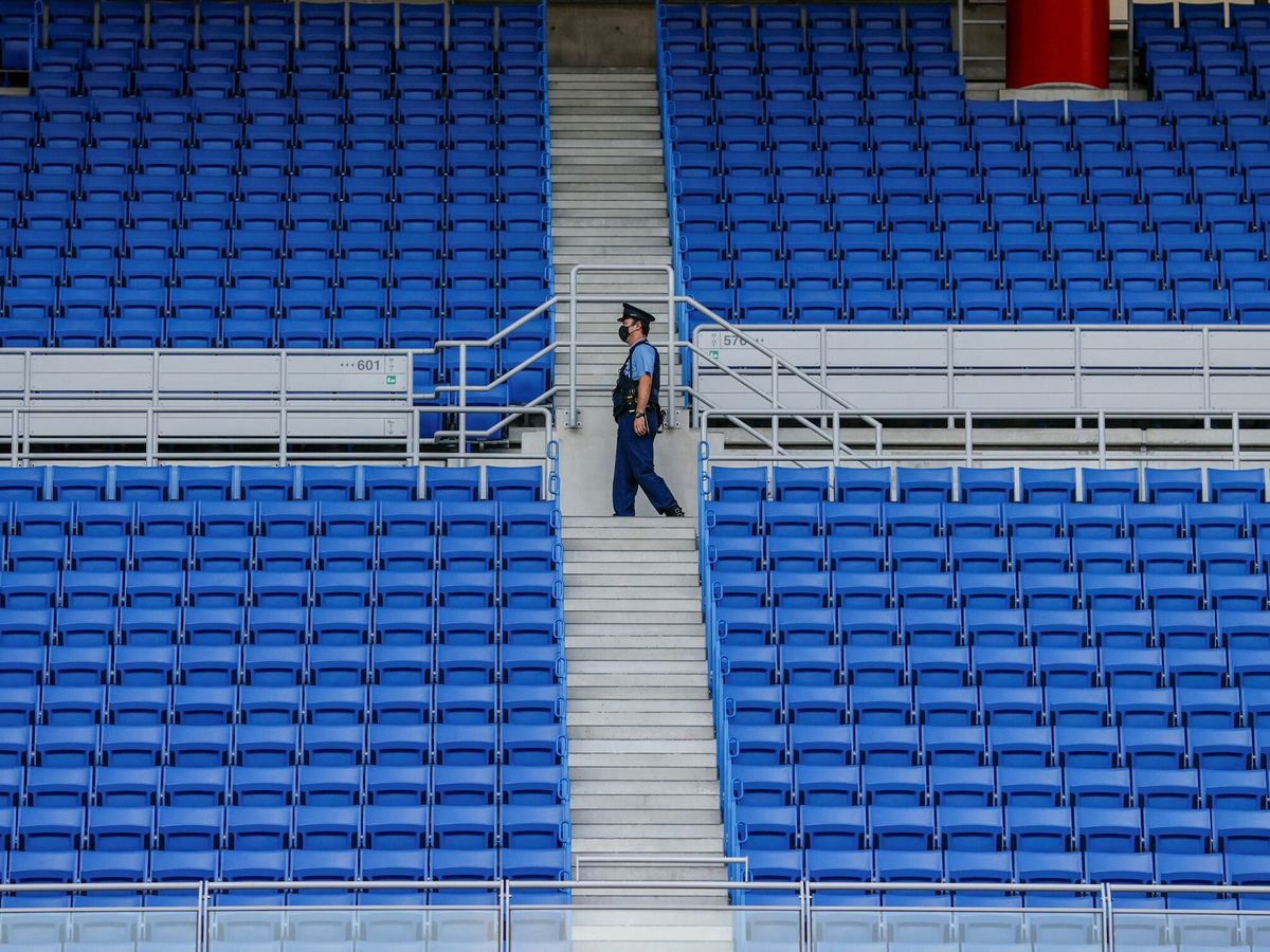 Foto: Estadio Internacional de Yokohama en Tokio 2020, las Olimpiadas sin público. (EFE)