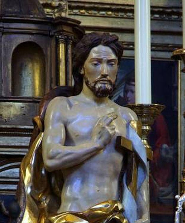 Foto: Imagen del Santísimo Cristo Resucitado. (Escuzao)