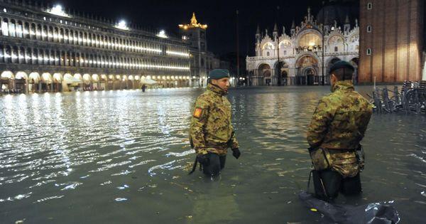 Venecia sufre su peor inundación desde 1966: «Esto es un desastre»