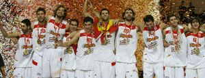 La mejor generación española logró el oro europeo