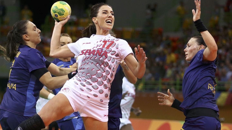 Eli Pinedo jugando con España. (EFE)