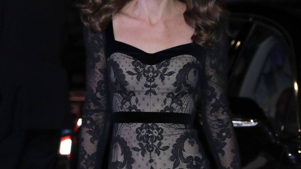 Kate Middleton brilla con encajes en la Royal Variety ajena a los escándalos de la Corona