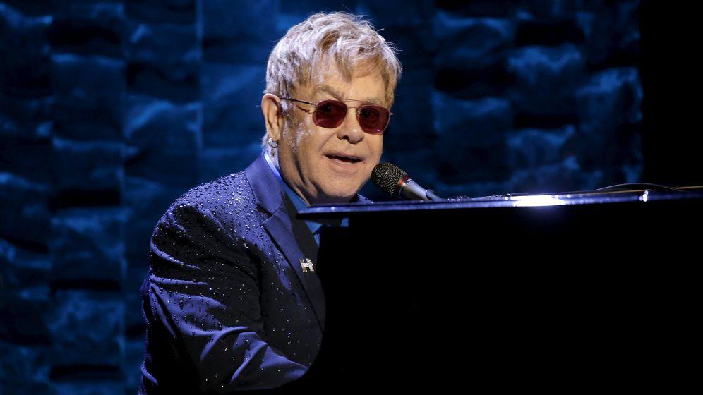 Foto: El cantante Elton John sufre una infección potencialmente mortal. (Reuters)