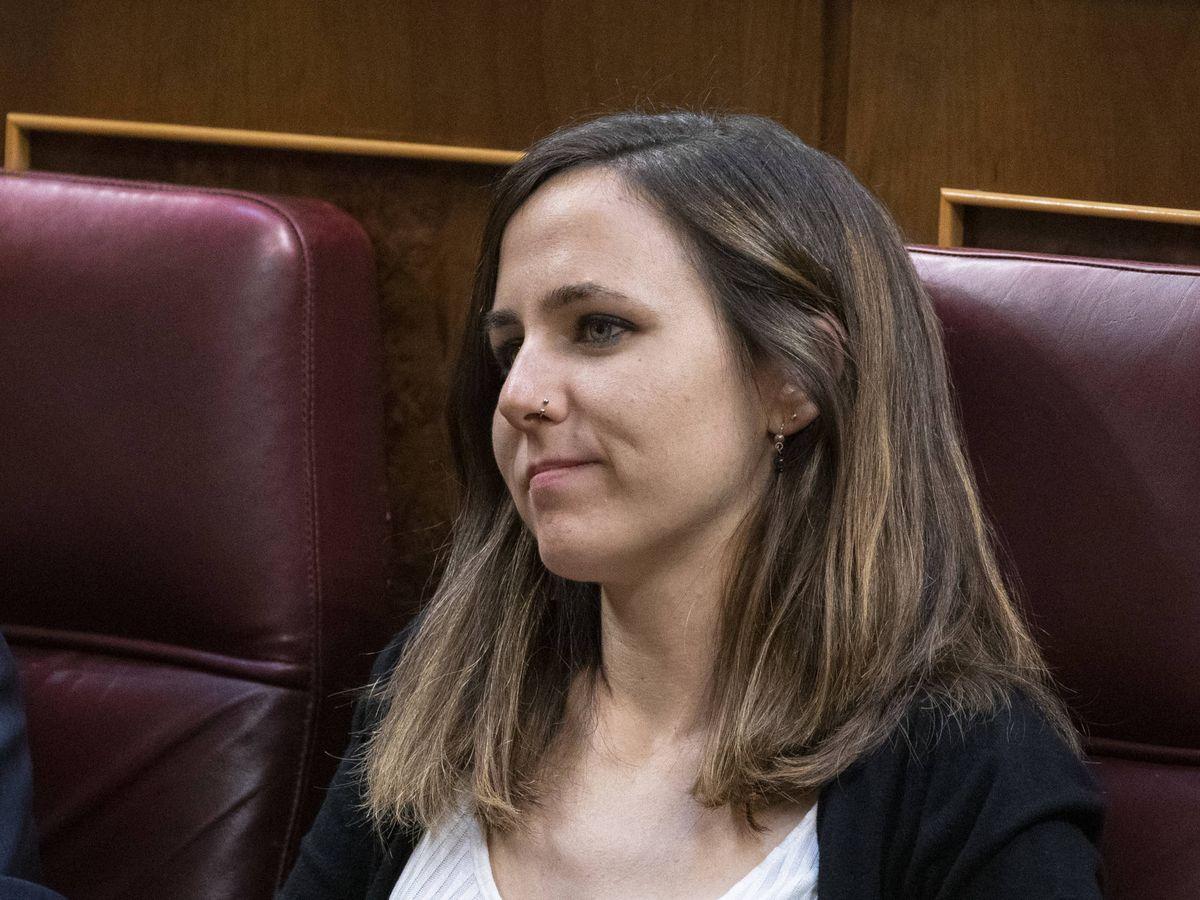 Foto: Ione Belarra, en el Congreso. (Getty)