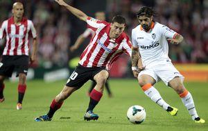 Athletic y Valencia empatan en un duelo disputado que acabó 'caliente'