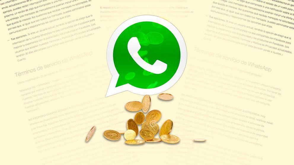 La nueva letra pequeña de WhatsApp: cómo hará dinero con tus datos