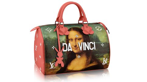Louis Vuitton recrea a la Mona Lisa