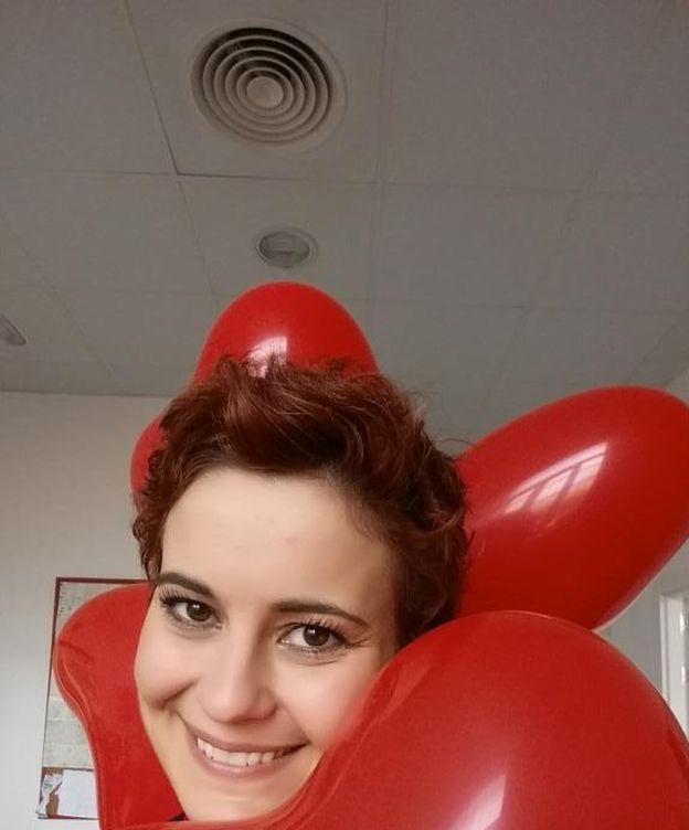 Foto: Ángela Montero, en una imagen de su perfil de Twitter