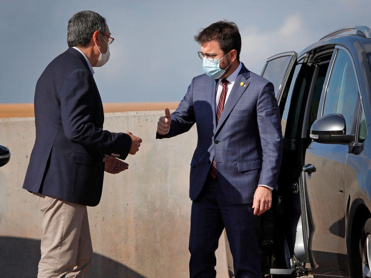 Foto: El 'president' de la Generalitat de Cataluña, Pere Aragonés. (EFE)