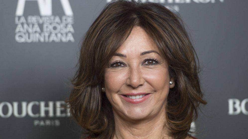 Foto: La presentadora Ana Rosa Quintana