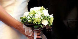 Nuria Fergó lució el ramo de novia más bonito de las últimas bodas veraniegas