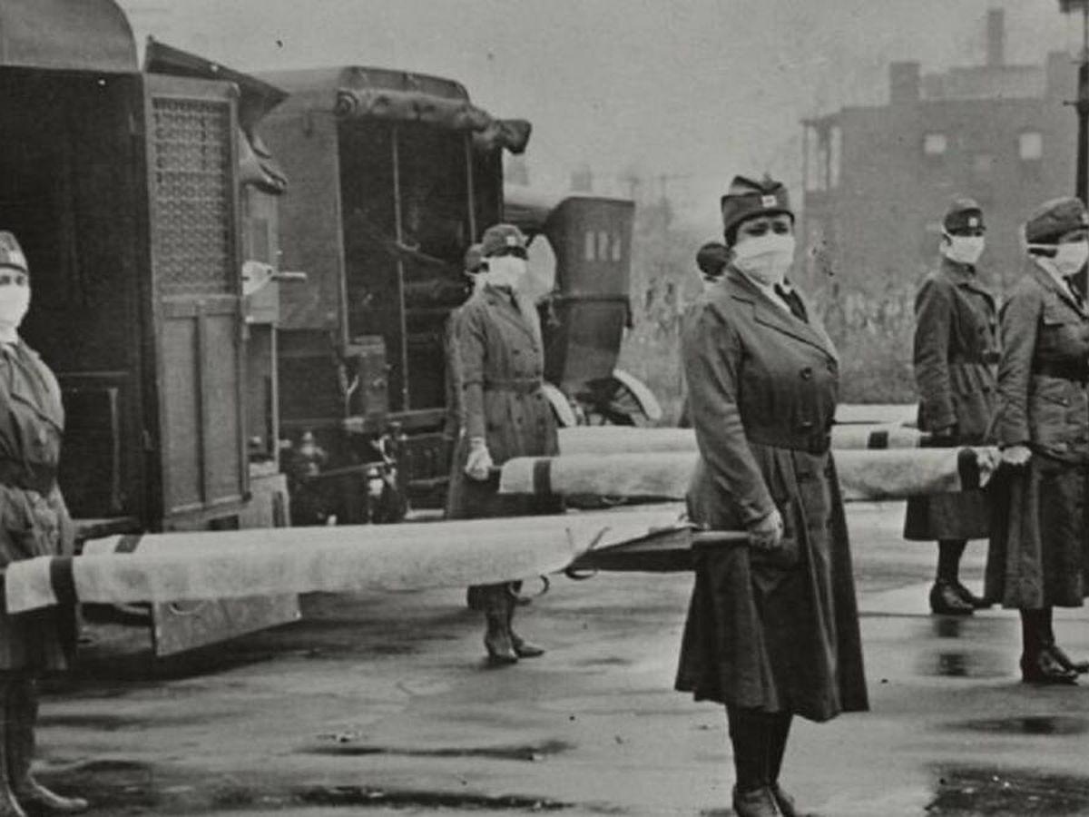 Foto: La mal llamada gripe española. Universal History Archive