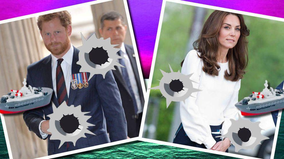 Los líos 'cuñadiles' llegan a la Corte británica de la mano de Harry y Kate