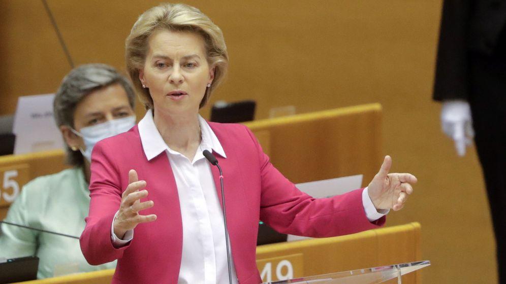 Foto: Presidenta de la Comisión Europea, Ursula Von der Leyen (Reuters)