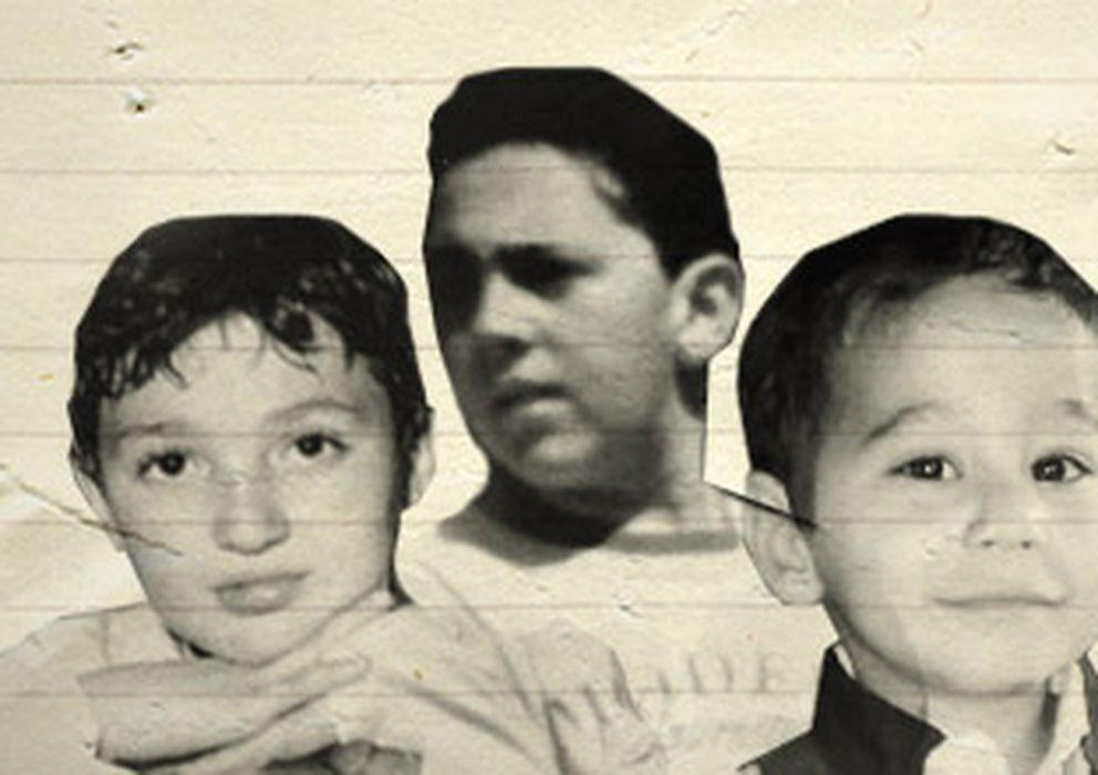 Foto: Claudio Domino, Giuseppe Di Matteo y Nicola Campolongo, tres niños asesinados por la mafia.