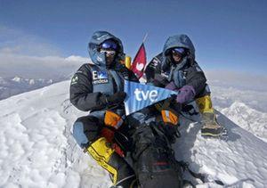 """Edurne Pasaban: """"De no ser por mi equipo me hubiera quedado en el Kangchenjunga"""""""