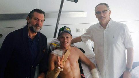Tito Rabat, operado con éxito de una fractura en la clavícula derecha