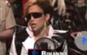 JLo imita a Rihanna