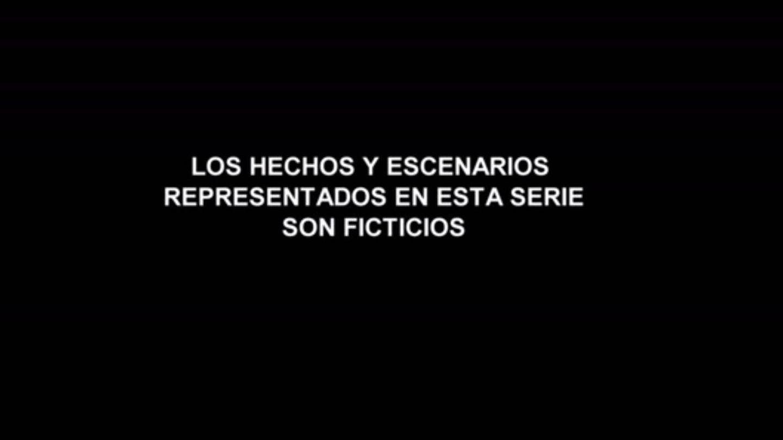 Aviso de Antena 3 al comienzo del episodio.
