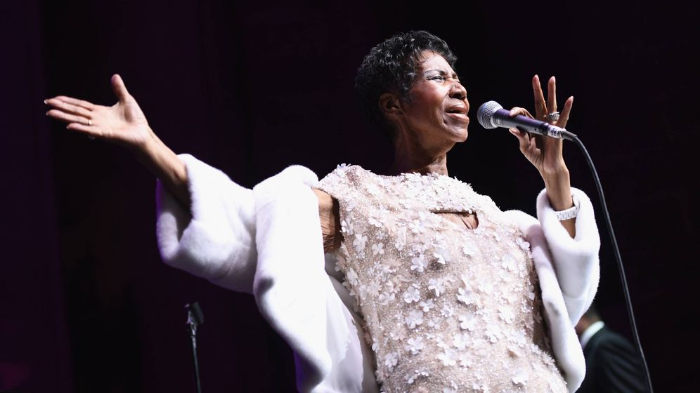 Foto: Aretha Franklin, en una foto de archivo. (Getty)