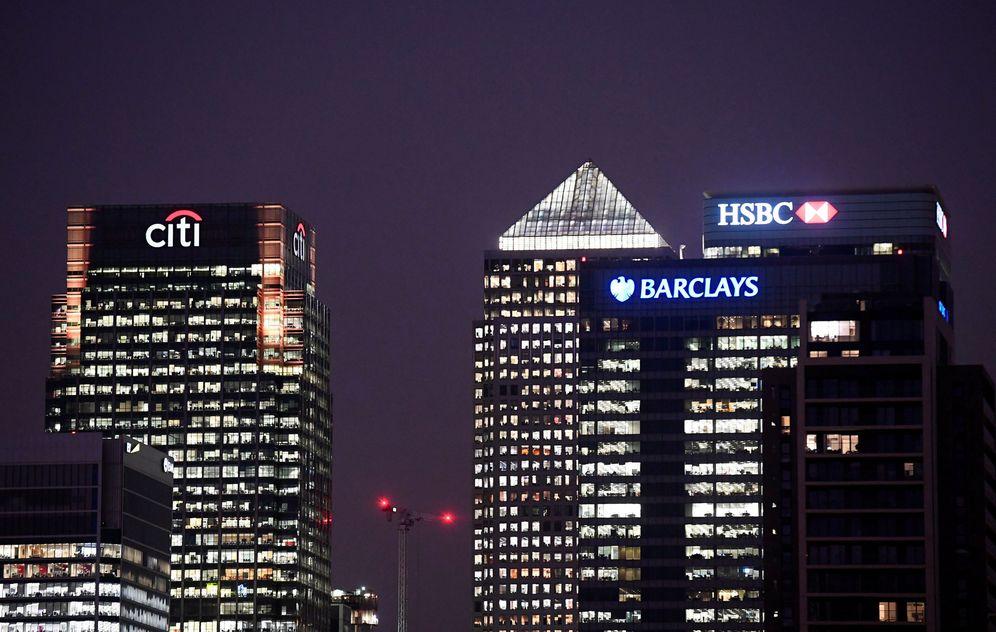 Foto: Oficinas de Citi, Barclays y HSBC en el distrito financiero de Londres. (Reuters)