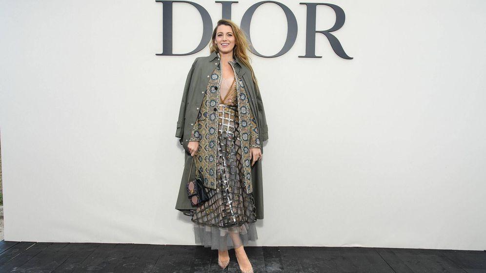 Foto: Blake Lively. (Dior)