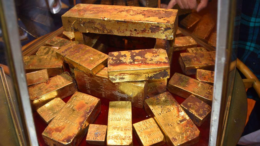 Foto: Lingotes de oro. (Efe)