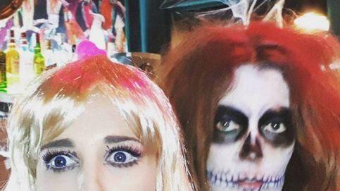 Paula Echevarría y la pullita velada a Bustamante en Halloween