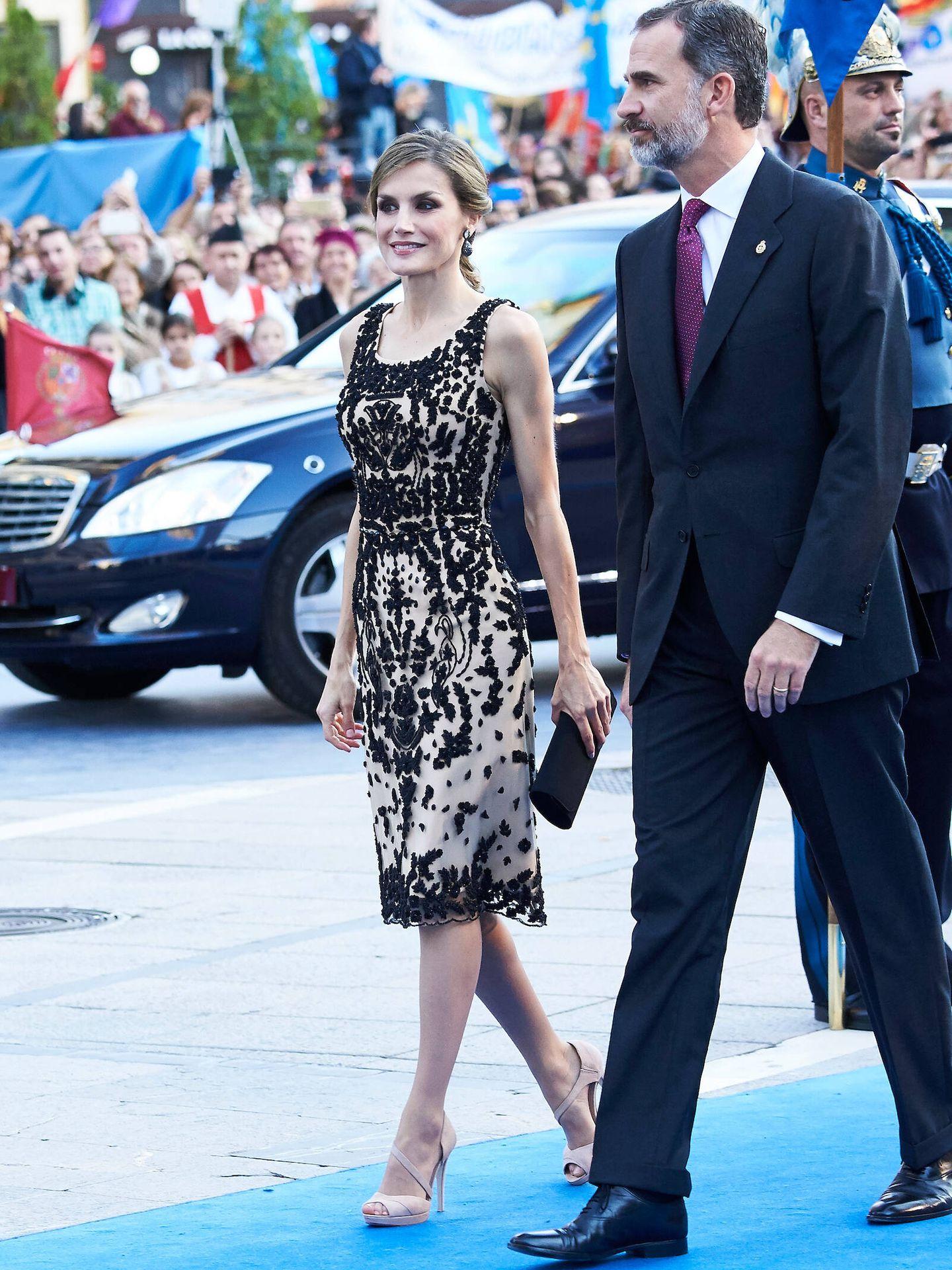 Letizia, en los Premios Princesa de Asturias 2016. (LP)