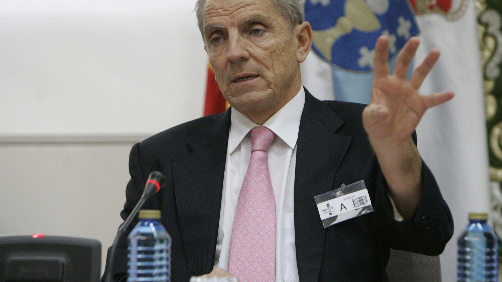 Foto: El expresidente de la CNMV Manuel Conthe. (EFE)