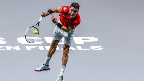 Cómo arrancó Rublev a Bautista el primer punto de España en la Copa Davis