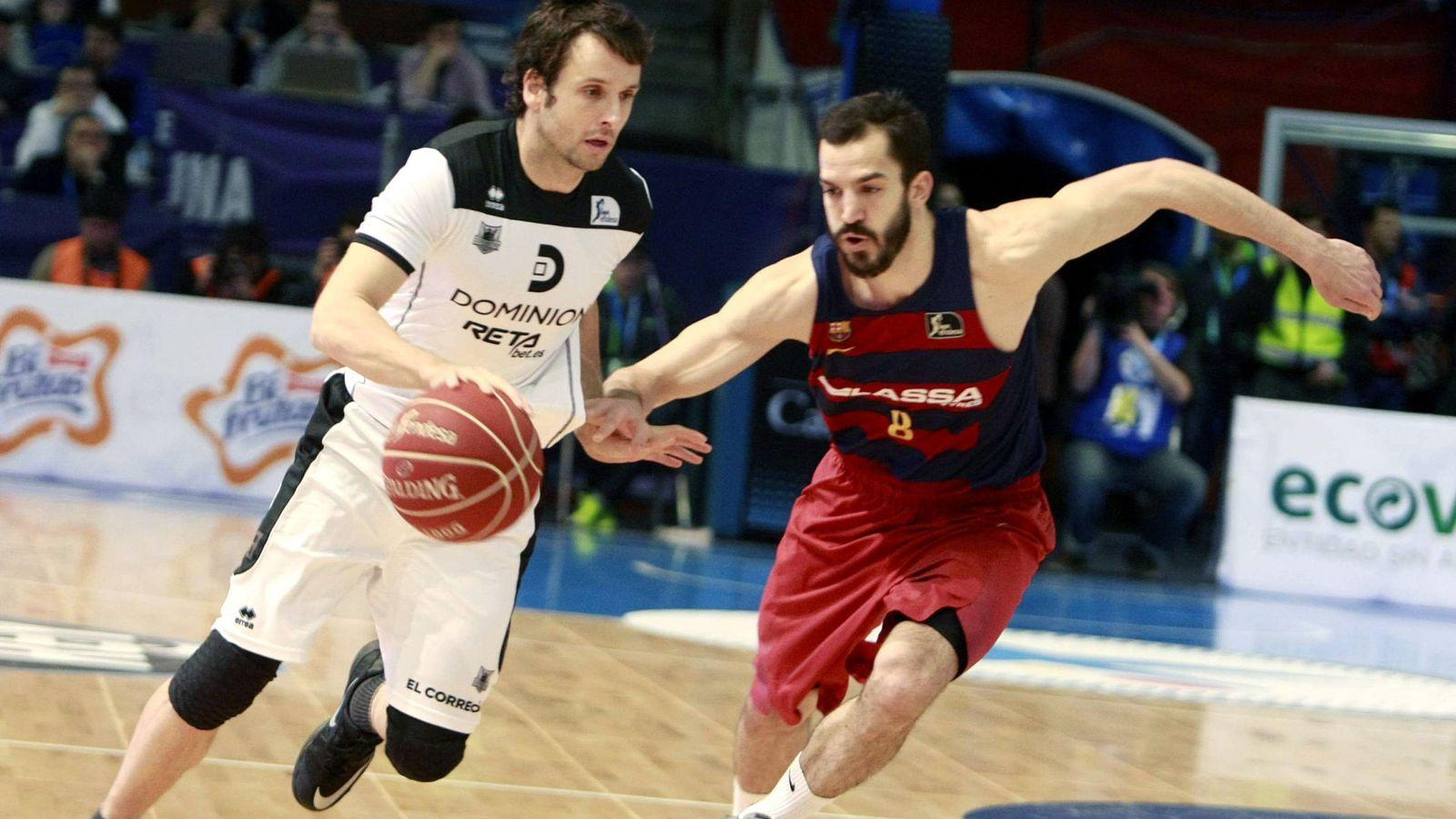 Foto: Raül López juega en el Dominion Bilbao Basket desde 2011 (Cabalar/Efe)