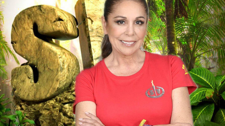 Isabel Pantoja, en 'Supervivientes 2019'. (Mediaset)