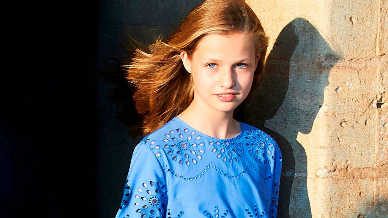 La princesa Leonor. (Limited Pictures)