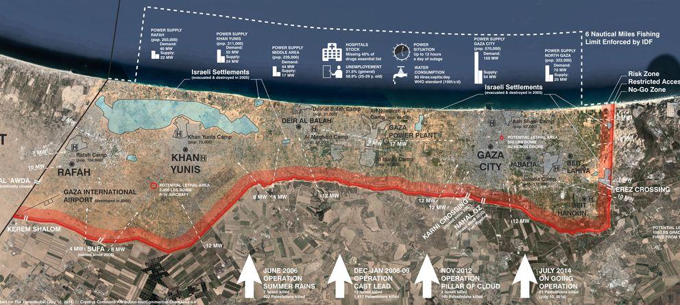 Foto: No hay donde refugiarse en Gaza