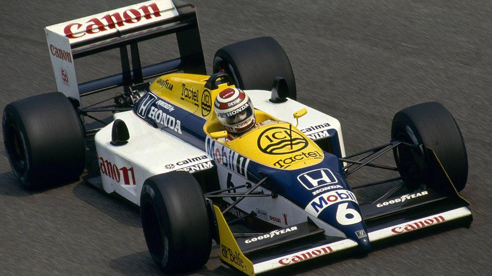 Foto: Nelson Piquet, con Williams en 1987. (Imago)