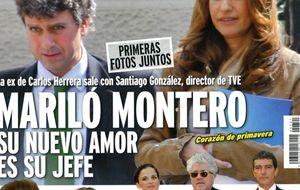Así es Santiago González, el periodista del que se ha enamorado Mariló Montero